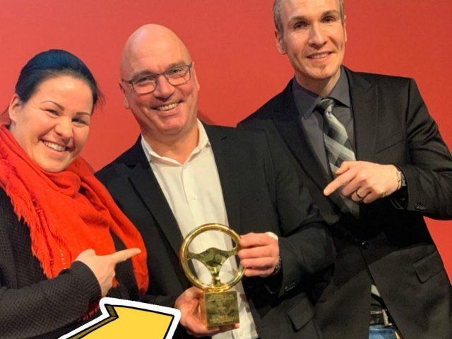 Kia XCeed mit goldenem Lenkrad ausgezeichnet