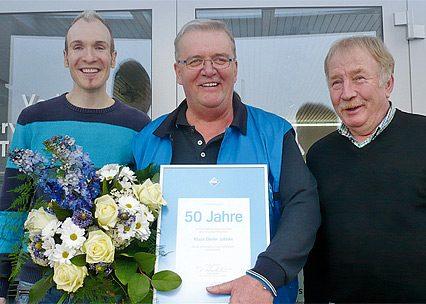 50-jähriges Firmenjubiläum von Klaus-Dieter Jahnke